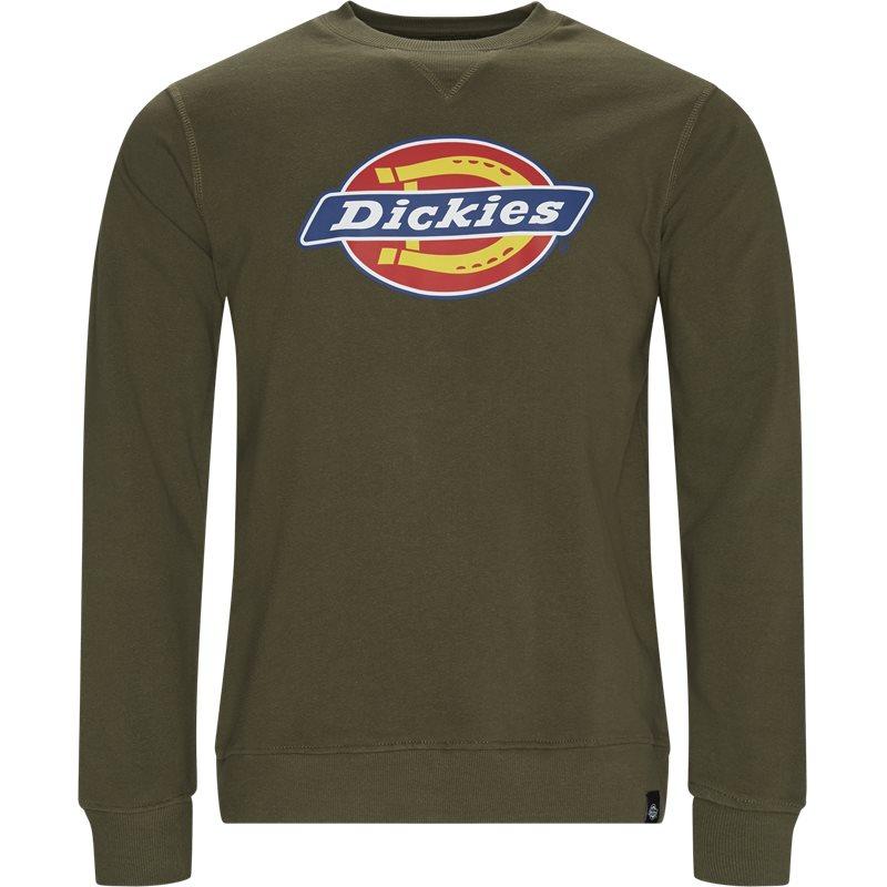 Image of   Dickies Harrison Crewneck Sweatshirt Dark Olive